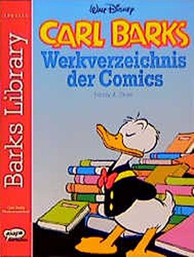 9783770418985: Carl Barks. Werkverzeichnis der Comics.