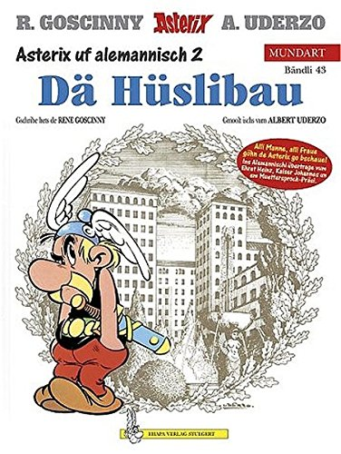 9783770422838: Asterix Mundart Geb, Bd.43, De Hüslibau