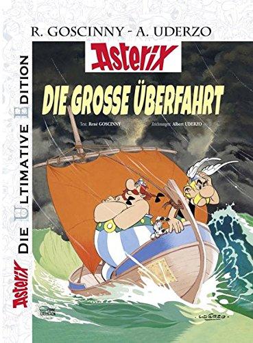 Die ultimative Asterix Edition 22 Die große Überfahrt - Goscinny, Rene, Albert Uderzo und Gudrun Penndorf