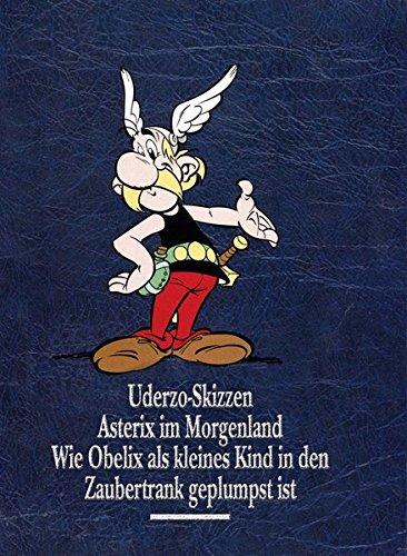 Asterix Gesamtausgabe 10: Uderzo Skizzen, Asterix im Morgenland, Wie Obelix als kl. Kind in den ...