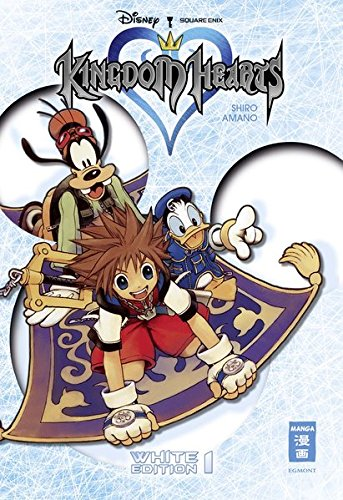 9783770486441: Kingdom Hearts White Edition 01