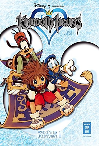 9783770486465: Kingdom Hearts White Edition 01 (+Schuber): -limitierte Auflage-