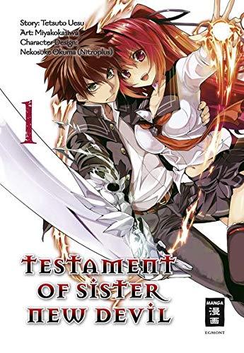 9783770487820: Testament of Sister New Devil 01