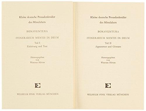 Itinerarium mentis in Deum.: Bonaventura: