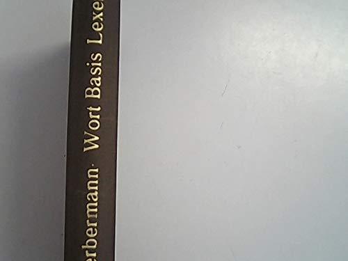 9783770518623: Wort, Basis, Lexem und die Grenze zwischen Lexikon und Grammatik: Eine Untersuchung am Beispiel der Bildung komplexer Substantive