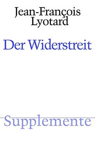 Der Widerstreit.: Lyotard, Jean-Francois; Clausjürgens,