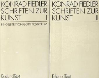 9783770526970: Schriften zur Kunst I/II: Text nach der Ausgabe München 1913/14