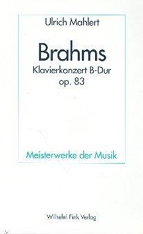 9783770529544: Johannes Brahms - Klavierkonzert B-Dur op. 83
