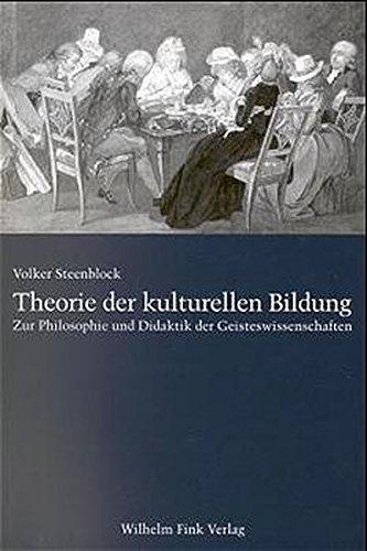 Theorie der kulturellen Bildung: Volker Steenblock