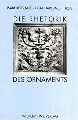 Die Rhetorik des Ornaments: Isabelle Frank