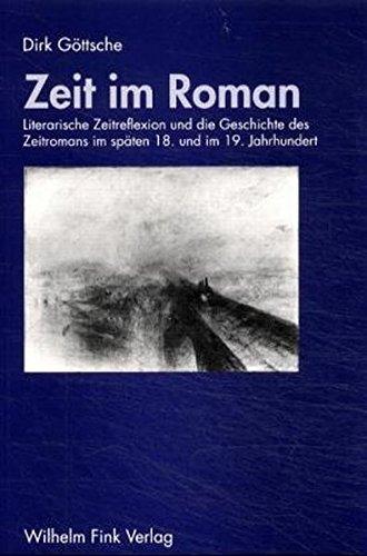 Zeit im Roman: Dirk Göttsche