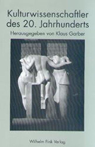 Kulturwissenschaftler des 20. Jahrhunderts: Klaus Garber