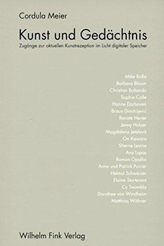 Kunst und Gedächtnis: Cordula Meier
