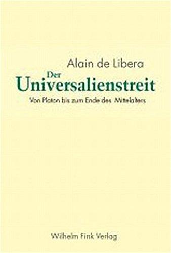 9783770537273: Der Universalienstreit: Von Platon bis zum Ende des Mittelalters