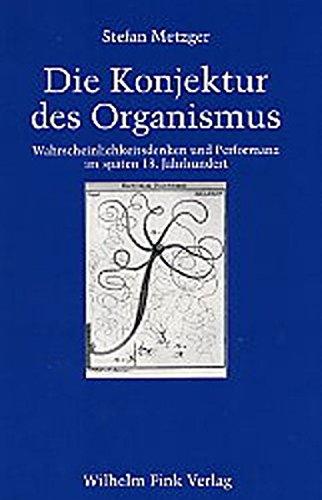 Die Konjuktur des Organismus: Stefan Metzger