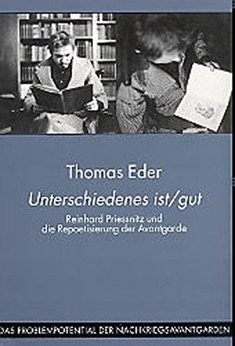 Unterschiedenes ist/gut: Thomas Eder