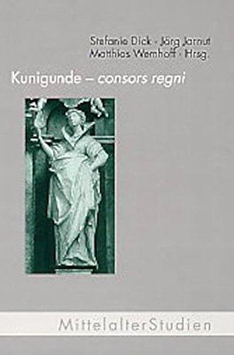9783770539239: Kunigunde - consors regni: Vortragsreihe zum tausendjährigen Jubiläum der Krönung Kunigundes in Paderborn (1002 - 2002)