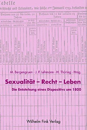Sexualität, Recht, Leben: Maximilian Bergengruen