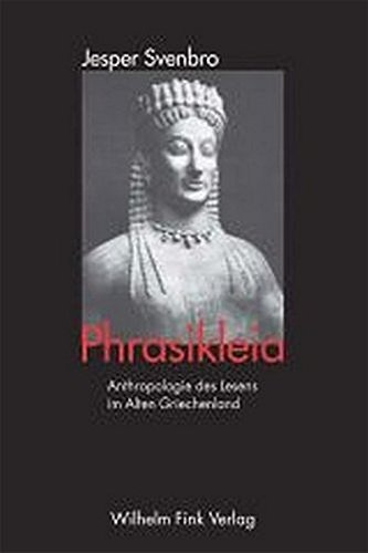 Phrasikleia: Jesper Svenbro