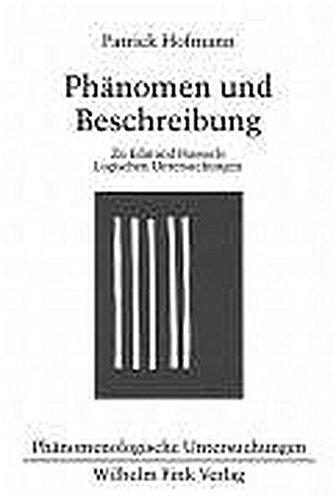 Phänomen der Beschreibung: Patrick Hofmann