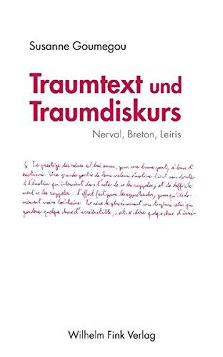 Traumtext und Traumdiskurs: Susanne Goumegou