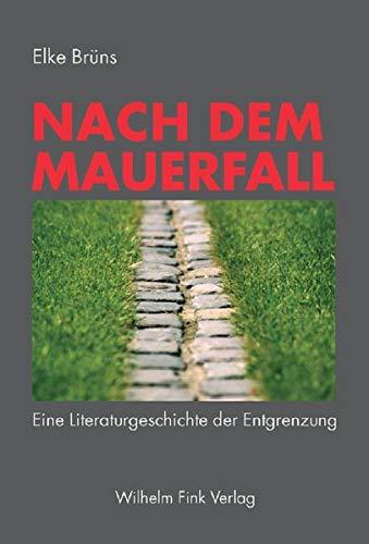 9783770543373: Nach dem Mauerfall: Eine Literaturgeschichte der Entgrenzung