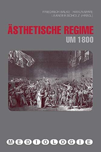 9783770547432: �sthetische Regime um 1800