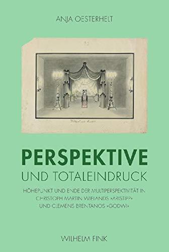 9783770548514: Perspektive und Totaleindruck