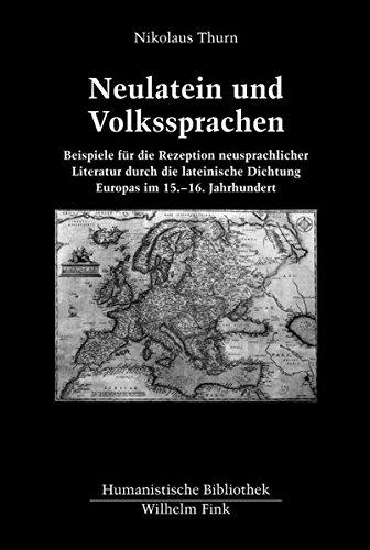 Neulatein und Volkssprachen: Nikolaus Thurn