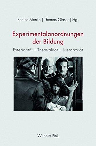 Experimentalanordnungen der Bildung: Bettine Menke