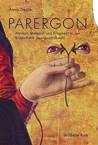 9783770557561: Parergon