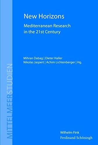 9783770558247: New Horizons: Mediterranean Research in the 21st Century