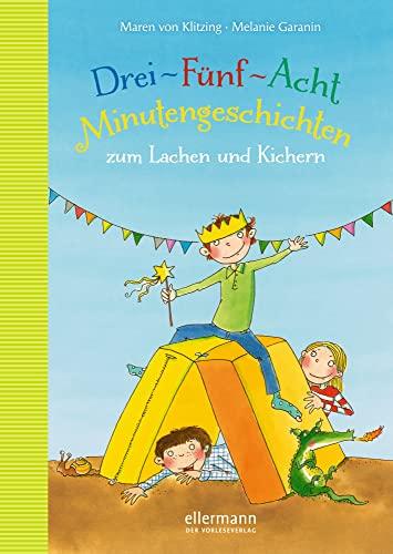 9783770724994: 3-5-8 Minutengeschichten zum Lachen und Kichern ; Minutengeschichten ; Ill. v. Garanin, Melanie; Deutsch
