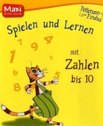 9783770742196: Pettersson & Findus - Spielen und Lernen mit Zahlen von 1 bis 10