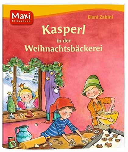 9783770742257: Kasperl in der Weihnachtsbäckerei