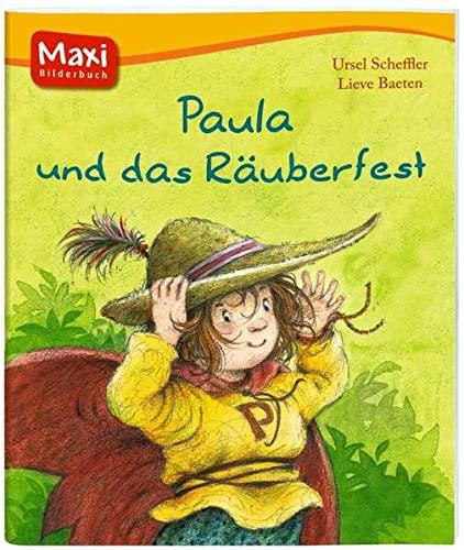 9783770775095: Paula und das Räuberfest