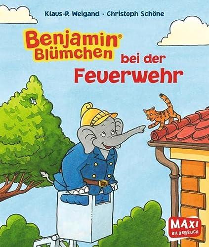 9783770776023: Benjamin Blümchen bei der Feuerwehr - Maxi