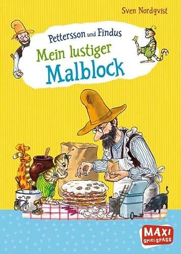 9783770776412: Pettersson und Findus - Mein lustiger Malblock: (Maxi Spielspaß)