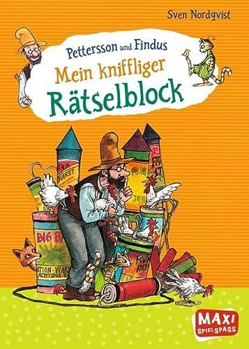9783770776436: Pettersson und Findus - Mein kniffliger Rätselblock