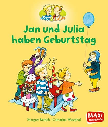 9783770777204: Jan und Julia haben Geburtstag
