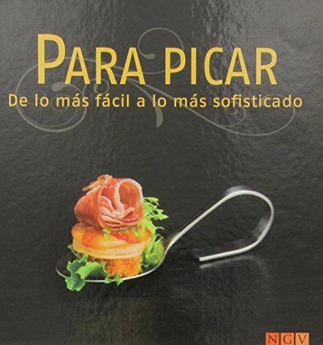 9783771600112: Para Picar. Libro De Recetas (+ 4 Cucharitas)