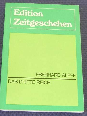 9783771620202: Das Dritte Reich