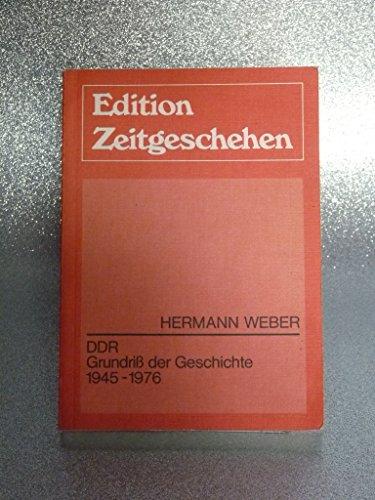 9783771620981: DDR. Grundriss der Geschichte