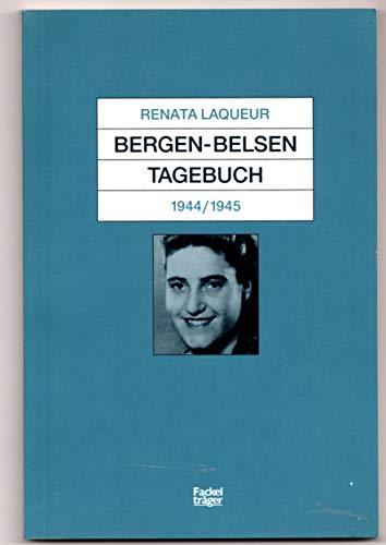 9783771623081: Bergen-Belsen Tagebuch, 1944-1945 (German Edition)