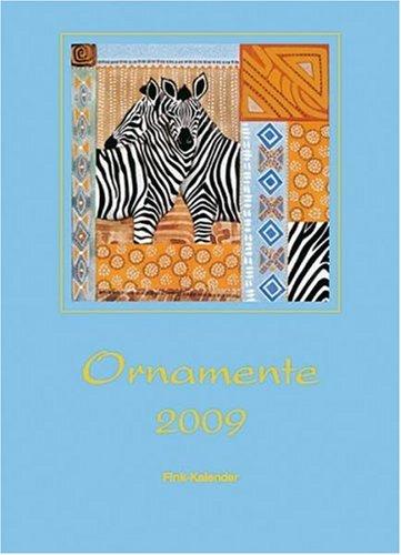 9783771711870: Ornamente 2009. Foto-Karten-Einsteckkalender