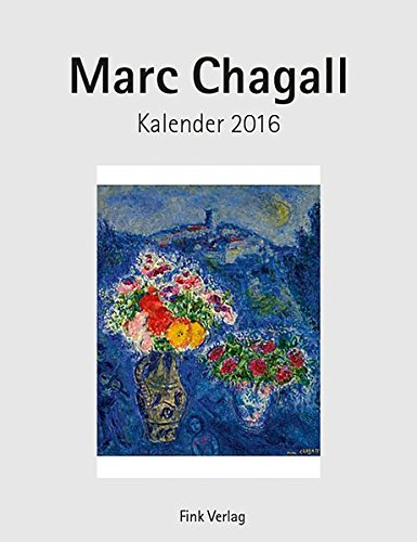 9783771715793: Marc Chagall 2016. Kunstkarten-Einsteckkalender