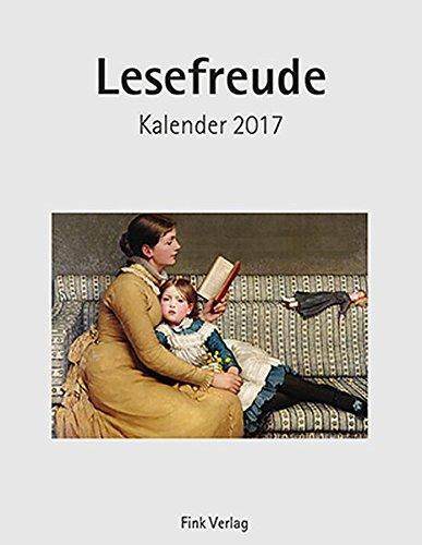 9783771716325: Lesefreude 2017 Kunst-Einsteckkalender