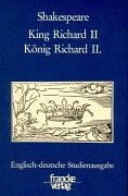 9783772012952: King Richard II. /König Richard II.