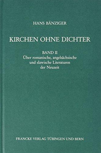 Kirchen ohne Dichter?: Kirchen ohne Dichter?, Bd.2,