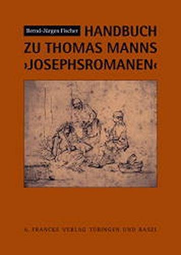 9783772027765: Handbuch zu Thomas Manns Josephsromanen